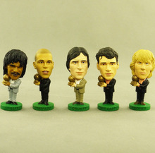 corinthian prostars World Cup Soccer Doll model The best football dolls Ronaldo gullit cruyff van basten nedved(China)