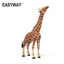 Mr.Froger Giraffe Model Toy Wild Animals toys set Zoo modeling plastic Solid PVC Giraffes Lifelike simulation Science Education