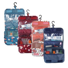 Durabel Waterproof Oxford Hanging Bag Makeup Cosmetic Travel Organizer Wash Toiletry Storage Bag