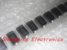 100PCS SS12 1N5817 1A 20V SMA Schottky diode DO-214AC IN5817