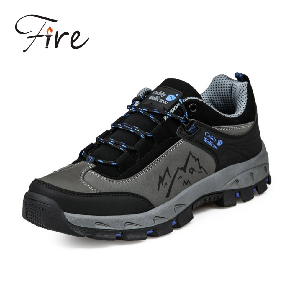 New 2017 sneakers Men Hiking Shoes Suede Mesh Climbing Shoes Waterproof Men sport Shoes Breathable Outdoor Shoes zapatillas<br><br>Aliexpress