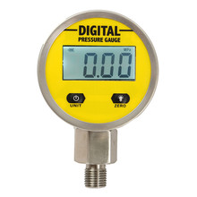 Digital Display Oil Pressure Hydraulic Gauge 3V 250BAR/25Mpa Pressure Test Meter For Gas Water Oil(China)