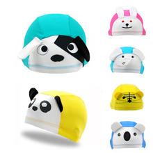 Baby Swimming Caps Children Lycra Dome Hat Cartoon Multi Designs Unisex