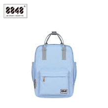 8848 Backpack Women Knapsack Casual Travel Shopping School BagPreppy Trenty Fashion Style Resistant Oxford Material 003-008-002(China)