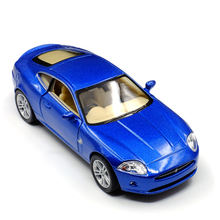 Brand New KiNSMART 1:38 Jaguar XK Coupe Diecast Metal Alloy Car Model Toy With Pull Back For Kids Birthday Gift Free Shipping(China)