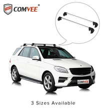 COMVEE Car Roof Rack Cross Bar with Anti-theft Lock 90cm-110cm for Toyota/Honda/Ford/Chevrolet/Cadillac/Kia/Lexus/Mitsubishi