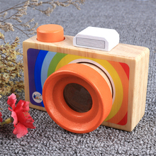 Good Quality Pretending Toys First Camera For Kids Play Kaleidoscope Picture Lens New Red To Improve Child Ability of Practice(China)