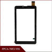 High Quality ployer P710 MOMO9T V719 3G 7'' inch FPC-70F2-V01 Touch Screen Panel Digitizer Glass Screen Tablet Free Shipping(China)