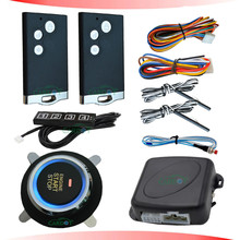 smart card rfid car alarm system with passwords security alarm protection auto start stop button engine
