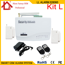 GSM Wireless Home Security Burglar Alarm Systems