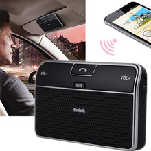 Universal Bluetooth Car 4.0 EDR In-Car Speakerphone Sun Visor Handsfree Car Kit Music Receiver Car Charger Bluetooth