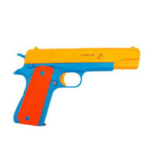 Semi Automatic Classic M1911 Toys Mauser pistol Children's Plastic Revolver Soft Bullet Gun Kids Fun Outdoor Game Shooter Safety