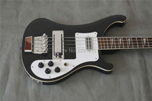 TOP QUALITY GUITAR Beautiful Rick 4003 bass guitar Through neck Dual outputs Free shipping(China)