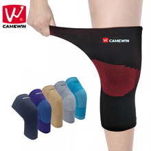 CAMEWIN 1 Piece Knee Protector High Elasticity Breathable Nylon Knee Pads for Men and Woman Basketball Badminton Knee Support(China)