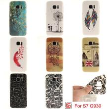 Cheap Ultra Thin TPU Silicone Soft Phone Mobile Cell Case Cover Bag For Samsung Samsug Sansung Samsuns Galaxy S7 SM-G930 Tree