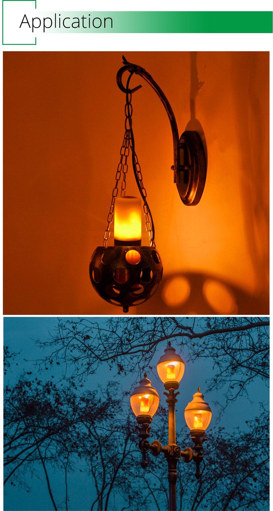 LED Flame Lamp Solar Waterproof Lawn Light Dancing Flickering Torch Lights Garden Outdoor Landscape Decorative Path Lighting (21)