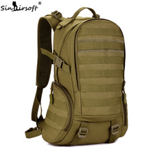 SINAIRSOFT 35L Camping Backpack Waterproof Molle Backpack Military School Backpack Tactical Sport Hiking Cycling backpack LY0020(China)