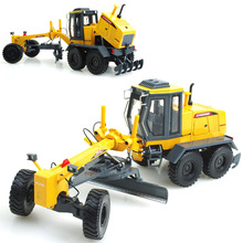 High Quality 1 : 35 alloy slide toy models construction vehicles,motor grader model, Children's educational toys Free shipping