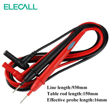 ELECALL A03 1000V 20A Needle Tip Probe Test Leads Pin  Universal Digital Multimeter Multi Meter  Probe Wire Pen Cable 16mm