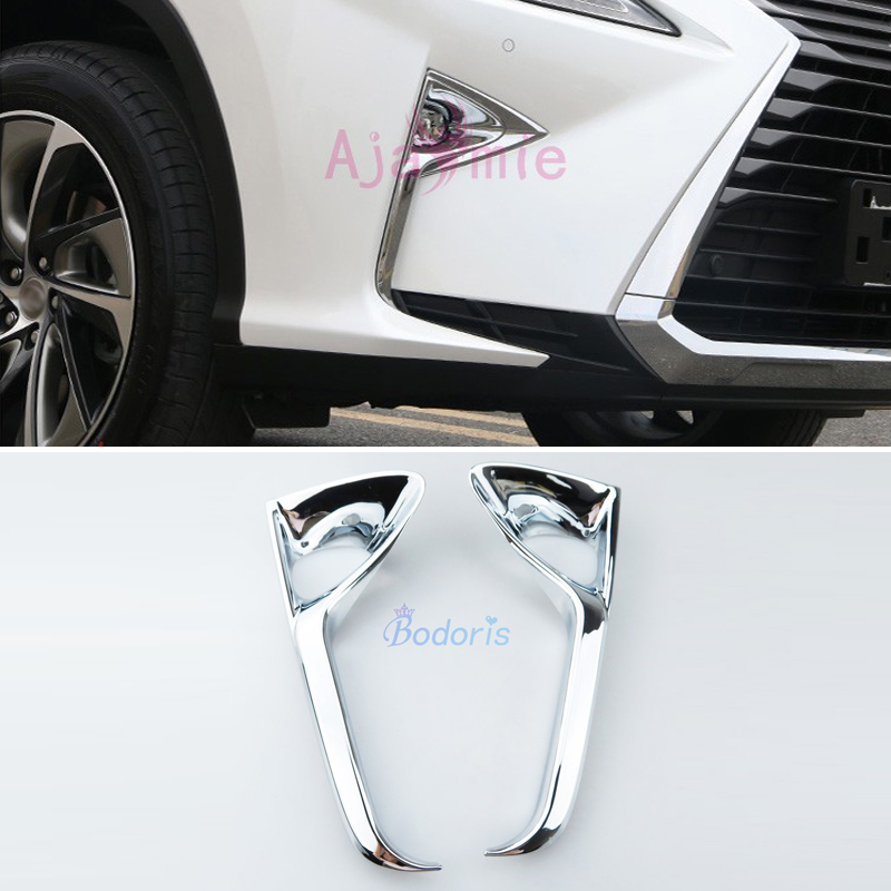 Chrome Rear Fog Light Cover Trim for 2016-2017 Lexus RX270 RX450h 450H RX350
