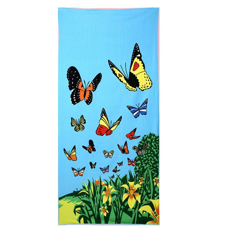 Micro Fiber Printed Beach Towel 140*70cm 13
