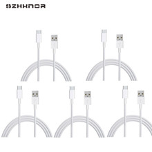 5pcs Cheap price Type C / Micro USB / 8Pin USB Cable Data Sync Charging Charger for samsung s8 note 8 Xiaomi 4x lg v20 for IOS(China)