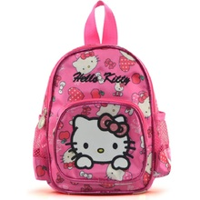 New fashion quality hellokitty children kids bags girls school backpack bag bolsos infantiles carton schoolbag(China)
