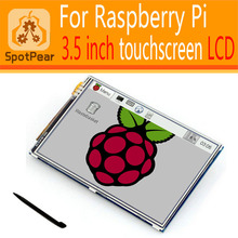 raspberry pi 3 model b/2b/b+/a+/b 3.5 inch LCD Display Module 480*320 Touchscreen(China)
