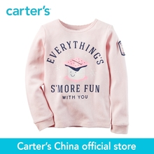 Carter's 1pcs baby children kids Long-Sleeve Everything's S'More Fun Thermal 273G636,sold by Carter's China official store