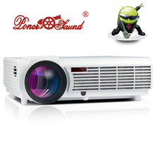 5500Lumen Android Smart Wifi 1080P Full HD LED LCD 3D Video TV Projector portable Multimedia Home cinema Beamer(China)