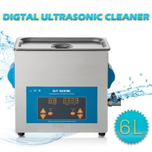 GT Sonic 6L Digital Ultrasonic Cleaner Bath Cleaning Jewelry Watch Glasses Circuit Board limpiador Cleaning Machine VGT-1860QTD(China)