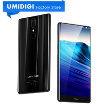 "UMIDIGI Crystal Bezel-less Display 5.5"" Android Smartphone MTK6737T 3000Mah 2GB RAM 16GB ROM Google Play Mobile Phone"
