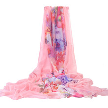Serviette De Plage Toalla Beach Swim Towel Scarves Printed Beach Towel Air Conditioning Shawls Silk Sunscreen Printed Scarf