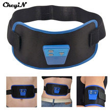 CkeyiN 2017 AB Gymnic Slimming belt Electronic Muscle Body Arm leg Waist Abdominal Massage Exercise Toning Slim Massager P00(China)