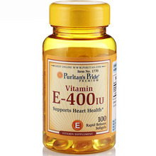Free shipping Vitamin E-400 IU Supports Heart Health 100 Rapid Release Softgels(China)