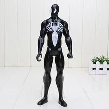 "12"" 30CM Black Suit Spiderman Spider-man Action Figure Spider man Toy Collectible Model Toy"