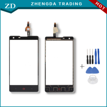 Good Touch Screen for ZTE Nubia Z5 mini Touch Panel Perfect Repair Parts for ZTE Nubia Z5 mini NX402 4.7 Inch Free Shipping(China)