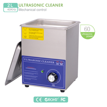2L Ultrasonic Cleaner 220V Timer Wash Machine 80W 40KHz Stainless Steel transducer w/ bascket for motherboard watch part PS-10T(China)