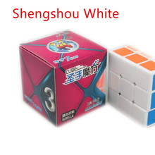 2017 Hot Shengshou Magnetic Magic Cube 70x70x70 Plastic Sticker Puzzle Cubo Model For Collection Gift