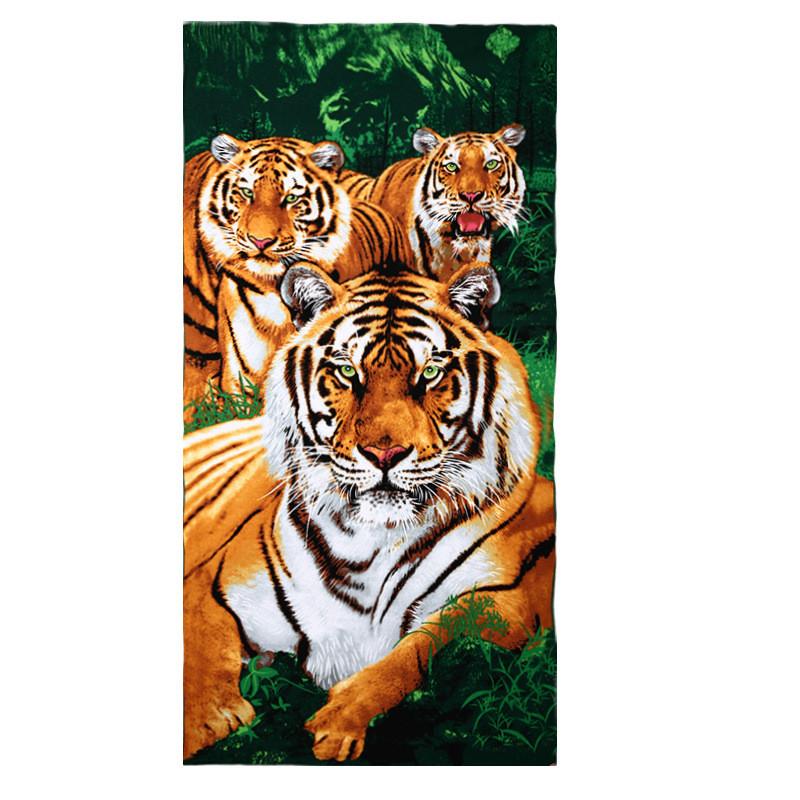 Micro Fiber Printed Beach Towel 140*70cm 15