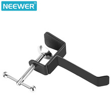 Neewer Table Desk Headphone Holder with 4.5 Maximum Clamp Opening Size  Convenient Indeformable Metallic Headphone Holder