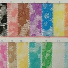 Lace transparent plastic PVC printing lace fabric ultra-through plastic film fabric material