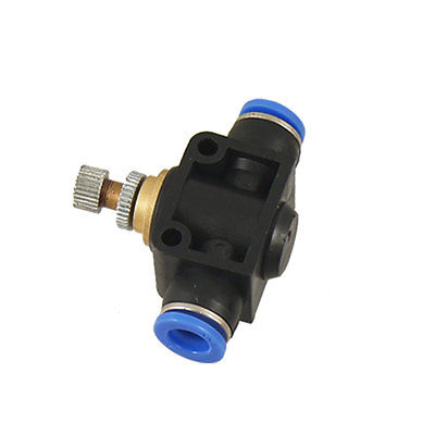 Speed Control 8mm to 8mm Push In Quick Fittings 5 Pcs<br><br>Aliexpress