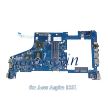 For acer aspire one 721 1551 laptop motherboard CPU ddr3 SJV10-NL MB 48.4HX01.031 55.4HX01.221G MB.SBB01.003 MBSBB01003