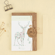 30 pcs/lot Fresh natural animal vintage card Marine animals postcard landscape greeting card christmas card  message gift