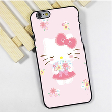 Fit for iPhone 4 4s 5 5s 5c se 6 6s 7 plus ipod touch 4 5 6 back skins phone case cover lovely Hello Kitty Pretty