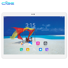 CIGE Free shipping 10.1 inch Tablets MTK8752 4G LTE Dual SIM WCDMA GPS 4GB/64GB Android 6.0 Tablet PC support Google Play store(China)