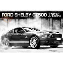 Custom New Arrival Ford Mustang Poster Home Decor modern Wall Sticker For Bedroom Wall Poster CD&63