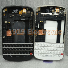 New Full Complete Mobile Phone Housing Cover Case+Enlish Keypad For BlackBerry BB Q10 + Tools+Tracking Fo