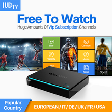 Android 6.0 TV Box 2G+16G Media Player 4K IPTV + Arabic Europe Itlian Subscription 1 Year IUDTV Account Code - Top-rated Electronic Mixshop store